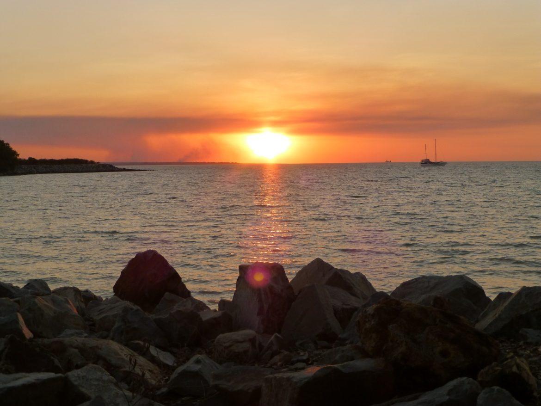Zonsondergang Mindil Beach Darwin