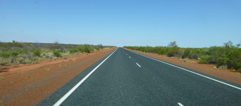 Recht naar Port Hedland