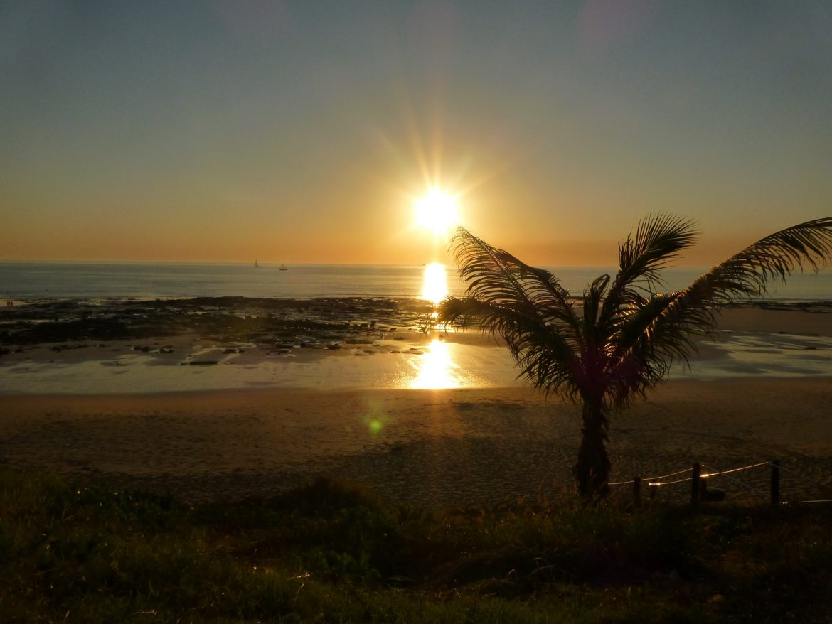 Zonsondergang @ Cable Beach in Broome