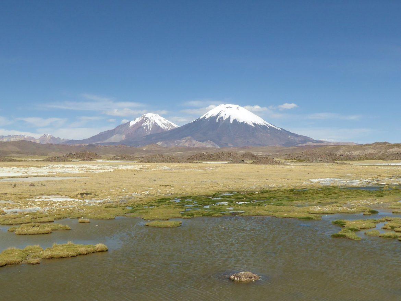 Vulkanen in Chili
