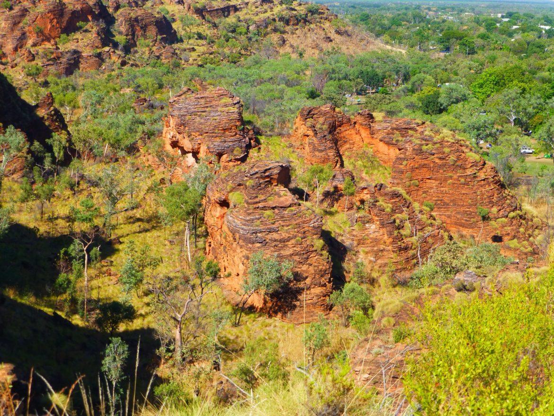 Hidden Valley, vanaf een van de bergtoppen